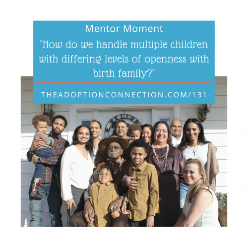 open adoption, birth family
